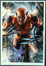 "GREG HORN WOLVERINE LIMITED EDITION ART PRINT  13""x19"" CONVENTION EXCLUSIVE"