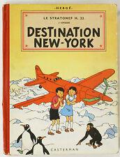 Le stratonef H. 22, 2ème épisode - Destination New-york. EO, 1951, B5. TBE.