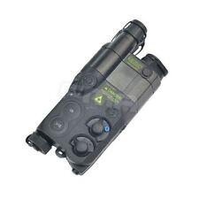 AIRSOFT DUMMY AN/PEQ16 BATTERY BOX CASE BLACK LIPO NIMH AEG RIS RAS RAIL PEQ 16