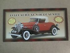 Danbury Mint Brochure 1932 Cadillac V-16 Roadster LE