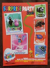 KINDER SURPRISE PARTY BOOK 2011 2012 BENELUX