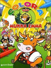 Colora con Mukka Emma - P. Coolbak - Libro nuovo in offerta !