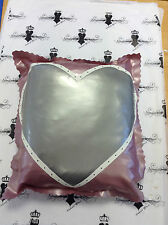 "Rubber Latex Kinky LOVERS HEART PILLOW CASE 16"" x 16"" RRP £59 Westward Bound"