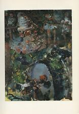 "1961 Vintage ROUAULT ""PARADE"" WOW! LOVELY BASS DRUM COLOR Art Print Lithograph"