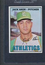 1967 Topps #110 Jack Aker Athletics EX *957