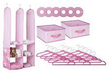 Delta Children 24 Piece Nursery Closet Organizer, Pink , New, Free Shipping