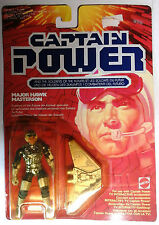 MATTEL - CAPTAIN POWER - MAJOR HAWK MASTERSON