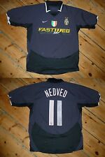"medium ""NEVED 11"" JUVENTUS SHIRT  3rd AWAY JERSEY 2001 ITALIA  Serie A JUVE Nike"