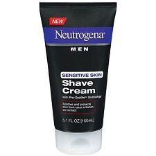 Neutrogena Men Sensitive Skin Shave Cream 5.1 Ounces