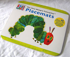 NEW THE VERY HUNGRY CATERPILLAR COLOURING PLACEMATS 30 TEAR OUT SHEETS BOOK AL
