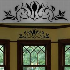 """Decorative Window Accent Decal, Door Accent Sticker, Wall Home Decor - 32"""" x 10"""""""