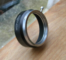 minolta short rangefinder Lens hood  clamp on over 42mm D42KA 52 x 18