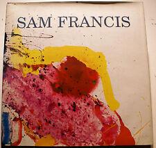 SAM FRANCIS/RARE CATALOGUE GALERIE GUY PIETERS/2004/PREFACE DE A.F.HAELEMEERSCH