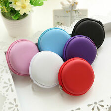 Hard Case Storage Bag Case Box for SD TF Card Earphones Headphones Earbuds Pink