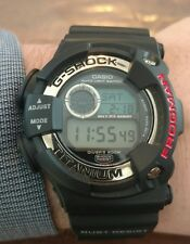 CASIO G-Shock FROGMAN DW-9900 1B BLACK TITANIUM MEN'S DIGITAL WRIST WATCH