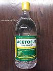 Essig-Essenz 80%, Acetosur Essig-Säure 80%,1 Liter, Lebensmittelqualität, hell