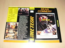 JAQUETTE VHS Meteor Sean Connery Natalie Wood Karl Malden