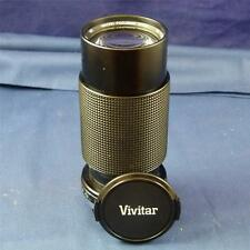 Superb VIVITAR 70-210mm 1:4:5 Macro Focusing Zoom, Lens 52mm 0/0m F1858