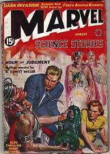 August 1939 MARVEL SCIENCE STORIES Vtg Sci-Fi Fiction Fantasy Pulp Magazine 15c