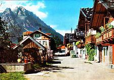 Garmisch-Partenkirchen - Frühlingstraße ; Ansichtskarte , gelaufen