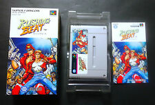 RUSHING BEAT rival turf Super Famicom SFC JAPAN Good.Condition !