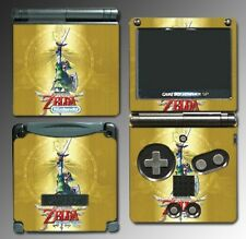Legend of Zelda Skyward Sword Link Special Video Game Skin Cover Nintendo GBA SP
