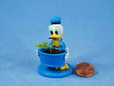 Cake Topper Decoration Disney Donald Duck Gardener Mini Flower Pot Figure K1215B