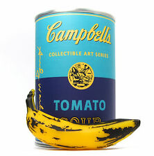 "Kidrobot ANDY WARHOL CAMPBELL'S SOUP CAN SERIES - VINYL BANANA 3"" Mini Figure"