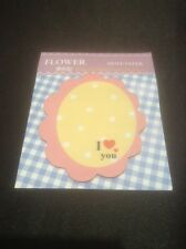 *Vintage Style Mini Oval Shaped Post-it Notes With Hearts*