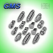 FORD FOCUS II MK2 ERROR FREE - INTERIOR CAR LED LIGHTS BULB KIT - GREEN
