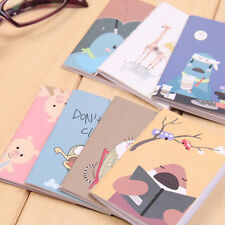 Retro Handmade Journal Memo Dream Notebook Paper Notepad Blank Pocket Diary LK