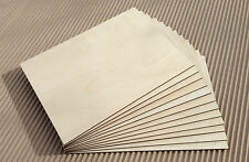 3mm laser Birch plywood 25 - 300 x 375 x 3mm for Laser, CNC, Pyrography, crafts