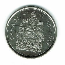 2013-M Canadian Brilliant Uncirculated Fifty Cent coin!
