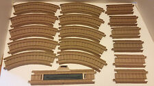 Trackmaster CURVED + HALF STRAIGHT + STOP GO TRACKS -Trackmaster Tomy Hit Mattel