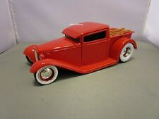 JADA 1/24 DUB CITY D RODS RED 1932 FORD PICK UP HOT ROD *READ* NO BOX 90718