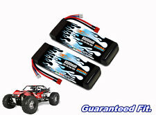 Maxamps LiPo 8000 2-cell 7.4v pair of lipos for your Yeti XL Monster Buggy
