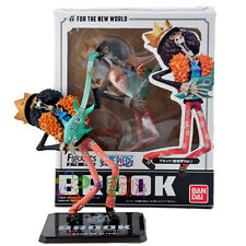 One Piece THE NEW WORLD Brook PVC Figure Japan Figurine Toys In Box 18cm / 7""