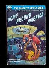 Ace Double D118 J. WILLIAMSON Dome Around America + HARNESS The Paradox Man 1955