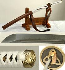 41'  Walking Dead Michonne Damascus  Folded Steel Sword Katana - Replica Sharp