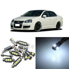 Error Free White 10pcs Interior LED Light Kit for 2005-2010 VW Jetta MKV MK5