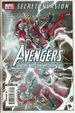 Marvel Comics Avengers The Initiative #18 December 2008 Secret Invasion VF+