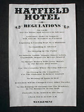 (280) OLD WEST HOTEL HATFIELD HOUSE RULES BAR BILLIARD ROOM McCOY POSTER 11x17""