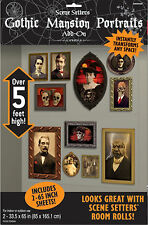 Halloween Gothic Mansion Portrait Gallery Decoration Scene Setters Photo Prop