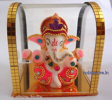 Lord GANESHA Statue For Car Dashboard Office Home As Valentine & Birthday Gift
