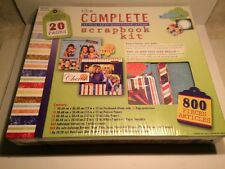 Westrim The Complete 12 x 12 Postbound Album Scrapbook Kit Factory Sealed
