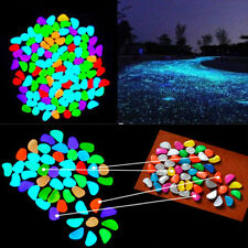 5pcs/Lot Glow in The Dark Stones pebbles Rock For FISH TANK AQUARIUM
