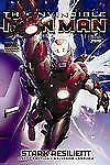 Invincible Iron Man Vol 6: Stark Resilient Book 2 by Fraction & Larroca 2011 HC