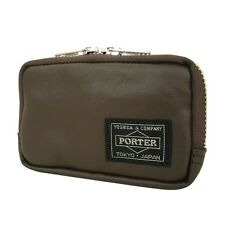 New PORTER FREE STYLE MULTI COIN CASE 707-07178 BROWN From JP