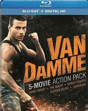 Van Damme 5-Movie Action Pack Hard Target / The Quest / Street Fighter / Sudden