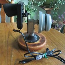 Industrial vintage Alarm Bell  light sensing light combo One of a Kind steampunk